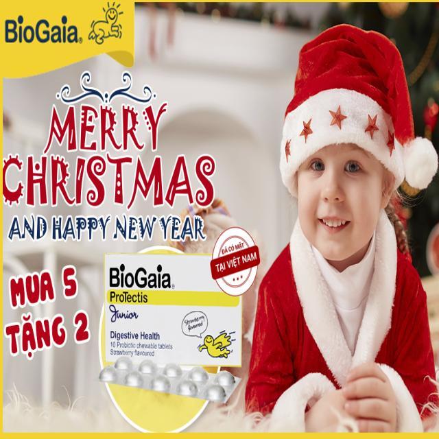 Chương trình khuyến mại hàng viên BioGaia từ 15/12/2016