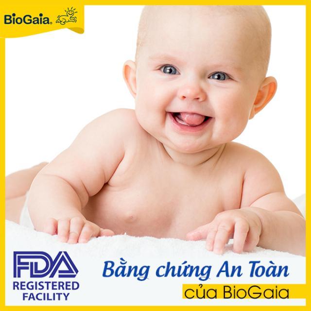 Bằng chứng an toàn của BioGaia Protectis