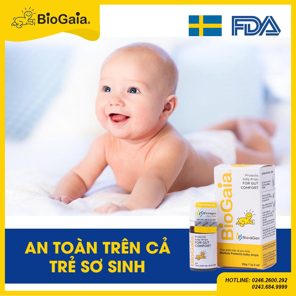 BioGaia an toàn trên cả trẻ sinh non
