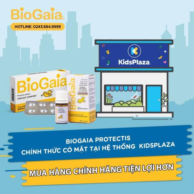 BioGaia Protectis chính thức có mặt tại hệ thống KIDS PLAZA