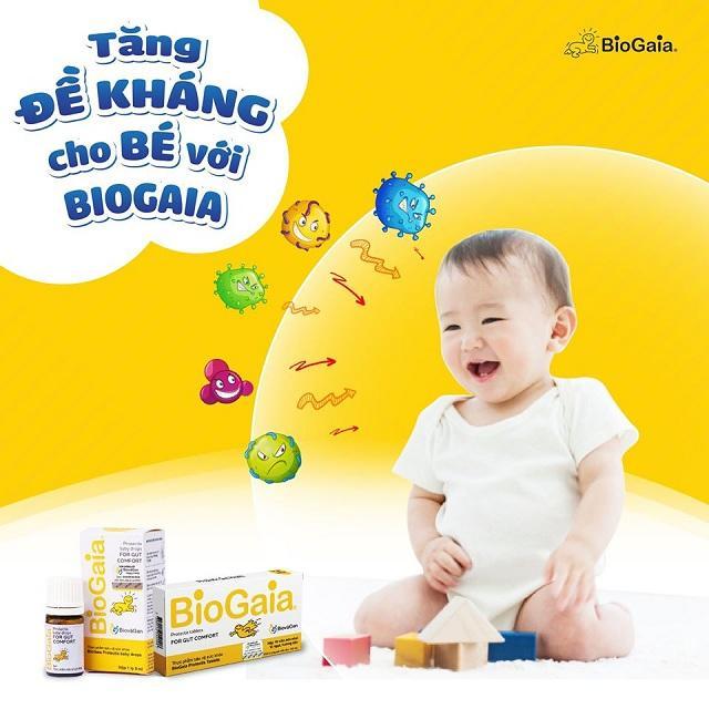 Vì sao BioGaia Protectis giúp tăng đề kháng cho con?