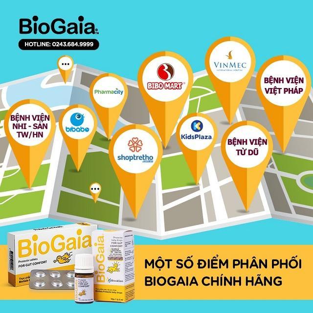 Mua BioGaia Protectis chính hãng ở đâu?