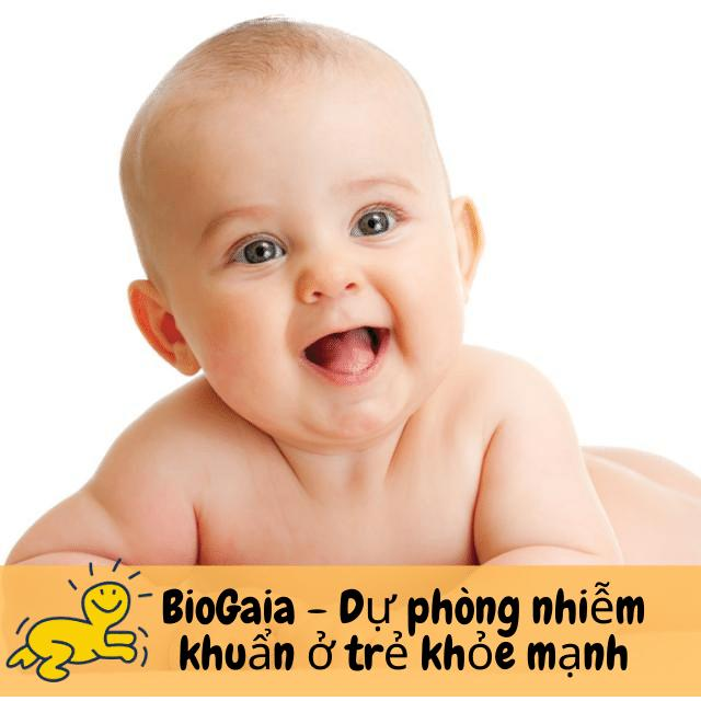 BioGaia - Dự phòng nhiễm khuẩn ở trẻ khỏe mạnh