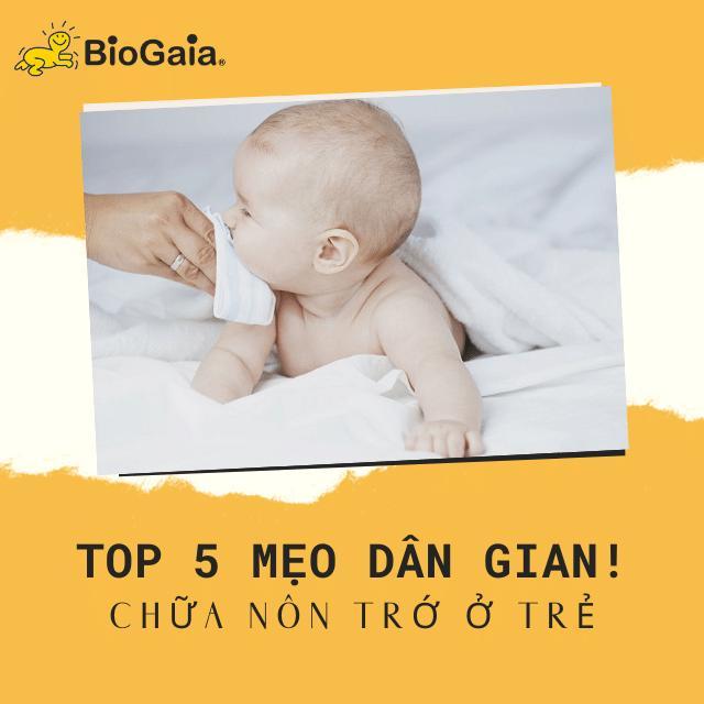 Top 5 mẹo dân gian chữa nôn trớ ở trẻ mẹ không nên bỏ qua