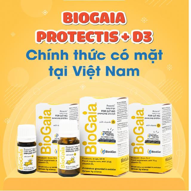 BioGaia Protectis + Vitamin D3 chính thức có mặt tại Việt Nam