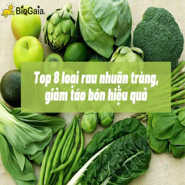 Trẻ bị táo bón nên ăn rau gì? 8 loại rau nhuận tràng, giảm táo bón hiệu quả