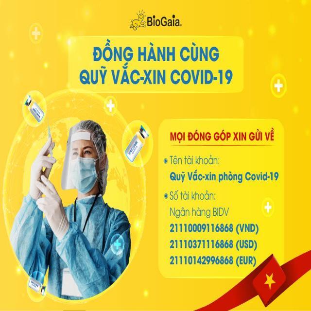 BiovaGen Việt Nam - Nhãn hàng BioGaia chung tay cùng chính phủ đầy lùi Covid 19