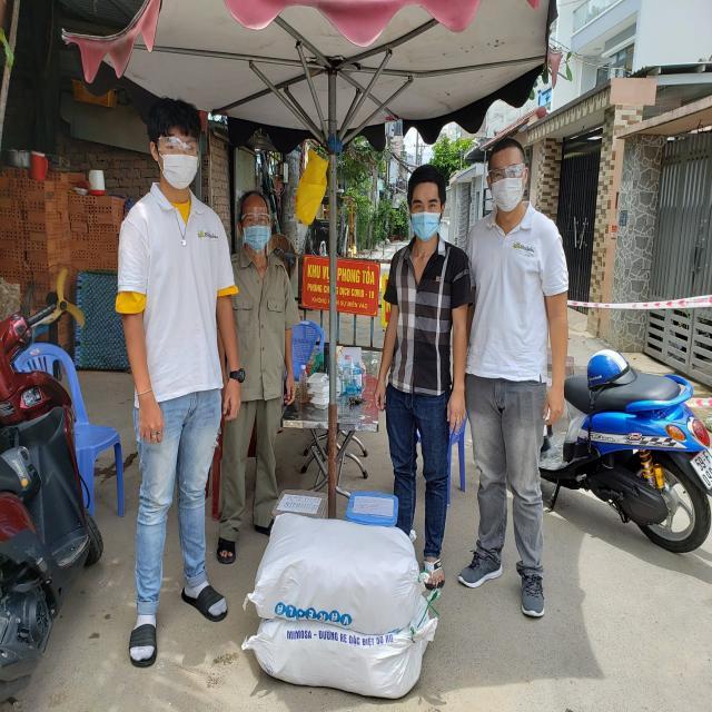 [Update] BioGaia Việt Nam chung tay hỗ trợ lương thực cùng người dân Sài Gòn